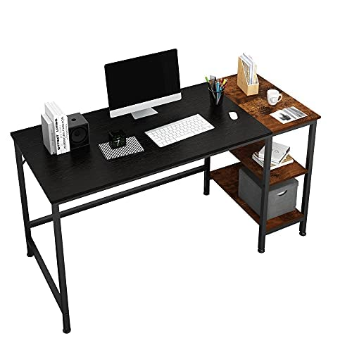 JOISCOPE Home Office Computer Desk, Study Writing Desk with Wooden...