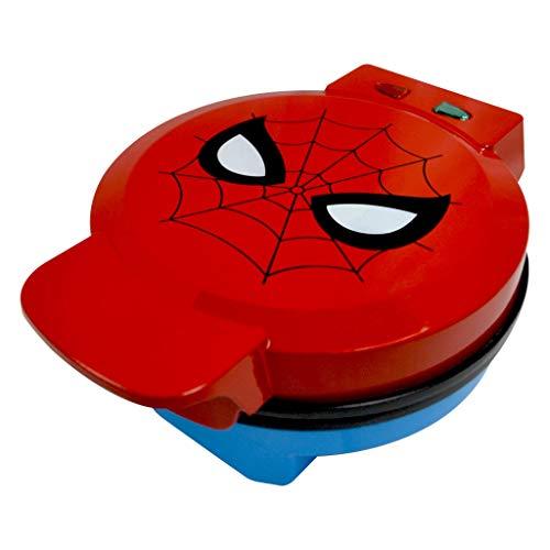 Marvel Spiderman Waffle Maker -Spidey's Mask on Your Waffles- Waffle...