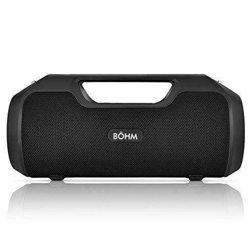 BÖHM Impact Plus Wireless Bluetooth Speaker Water Resistant IPX4 40W...