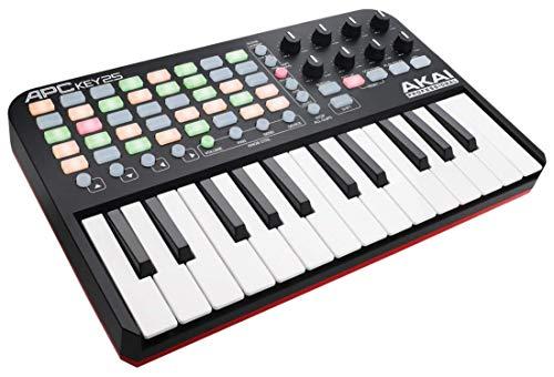 AKAI Professional APC Key 25 | USB MIDI Keyboard Controller featuring...