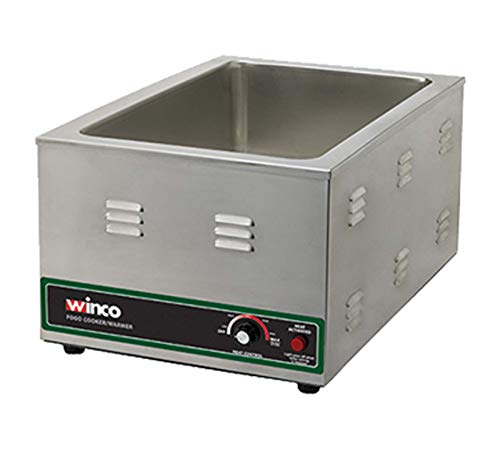 Winco FW-S600 Electric Food Cooker/Warmer, 1500-watt,Stainless...