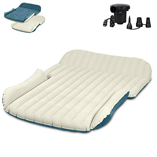 WEY&FLY SUV Air Mattress Thickened and Double-Sided Flocking Travel...