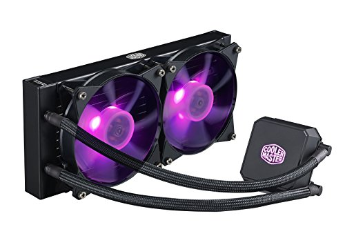 Cooler Master MasterLiquid LC240E RGB Close-Loop AIO CPU Liquid...
