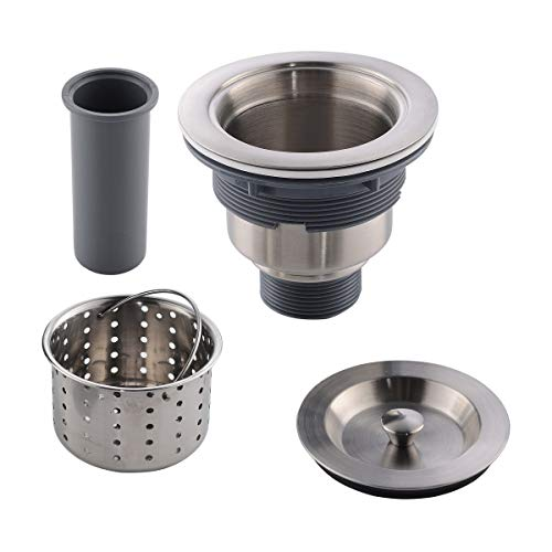 APPASO 3.5 inches Kitchen Sink Drain Strainer with Removable Deep...
