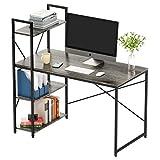 Bestier Computer Desk with Storage Shelves 47 Inch Home Office Desk...