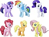 My Little Pony Toys Meet the Mane 6 Ponies Collection (Amazon...