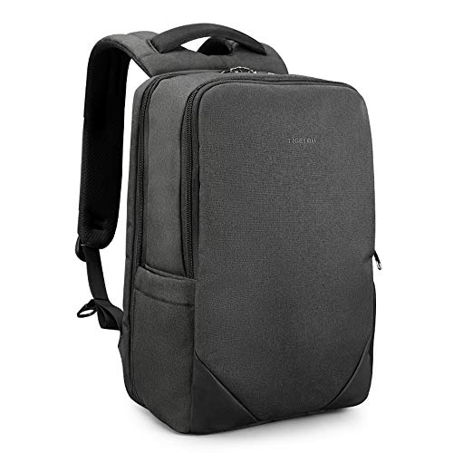 Slim Laptop Backpack Lightweight Business Commuting Bag Anti-Theft...