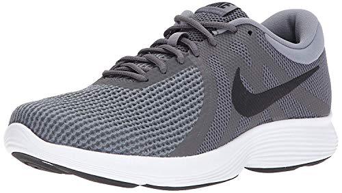 Nike Men's Revolution 4 Running Shoe, Dark Grey/Black-Cool Grey/White,...