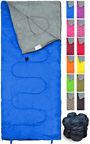 REVALCAMP Lightweight Blue Sleeping Bag Indoor & Outdoor use. Great...