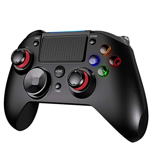 PS4 Controller Wireless, PICTEK 1300mAh Wireless Controller for...