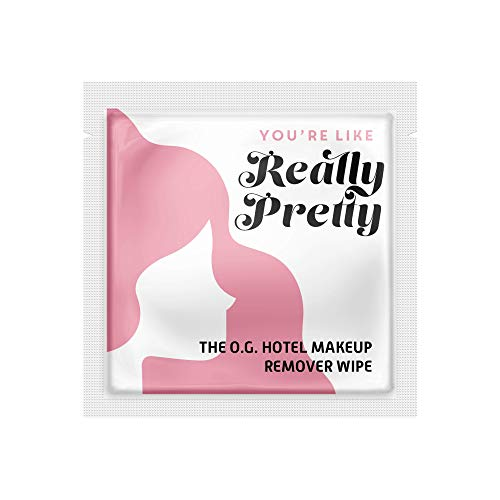 La Fresh Makeup Remover Cleansing Travel Wipes Natural, Biodegradable,...