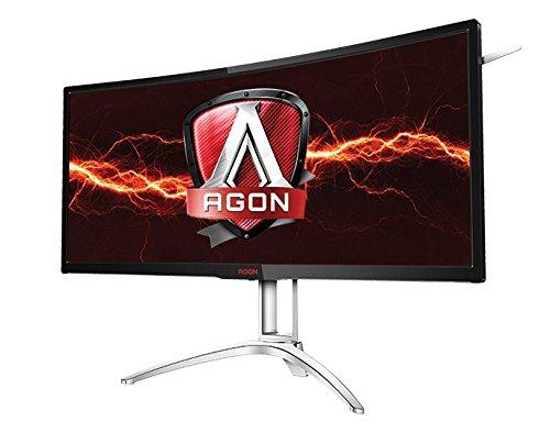 AOC Agon AG352UCG6 35' Curved Gaming Monitor, 1800R, Uwqhd 3440x1440...