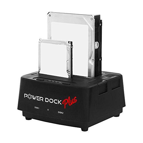Kingwin USB 3.0 to Dual Bay SATA/SSD Hard Drive Dock w/ Offline Clone...