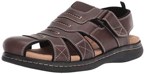 Dockers Mens Searose Outdoor Sport Fisherman Sandal Shoe Rust, 11