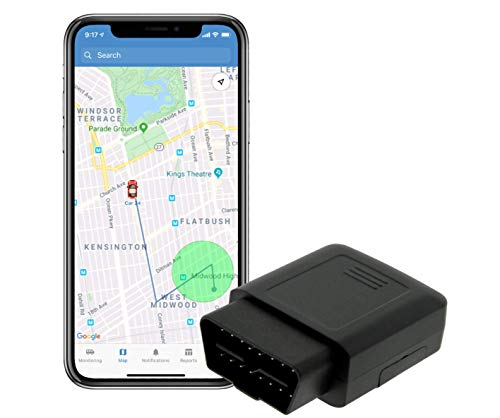 TrackPort OBD-II 4G Vehicle GPS Tracker - Track Car Location and Speed...