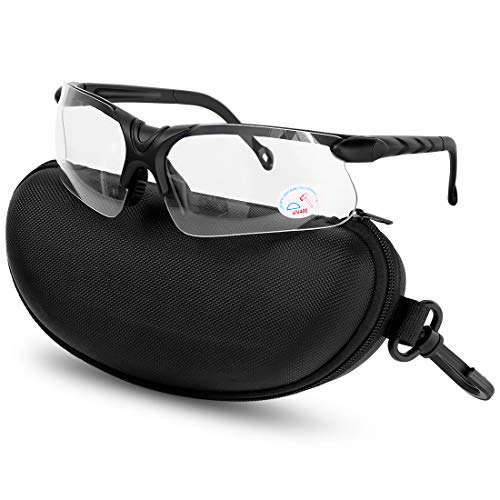 XAegis Shooting Glasses with Case Anti Fog Hunting Safety Glasses for...