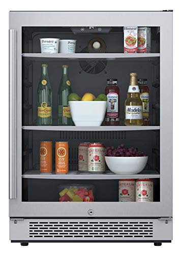 Avallon 152 Can 24' Built-In Beverage Cooler - Right Hinge