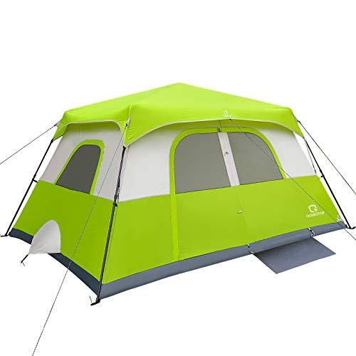 OT QOMOTOP Tents, 6 Person 60 Sec Set Up Camping Tent, Waterproof Pop...