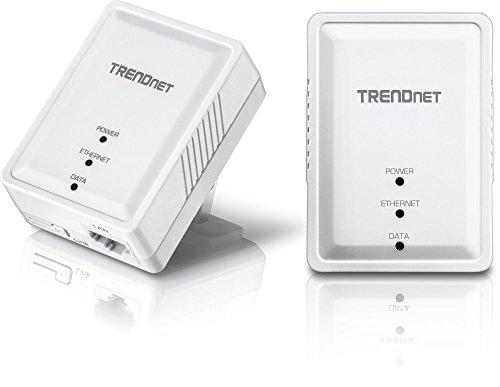 TRENDnet Powerline 500 AV Nano Adapter Kit, Includes 2 x TPL-406E...