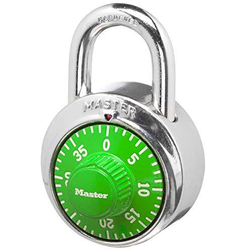 Master Lock 1505D Locker Lock Combination Padlock, 1 Pack, Assorted...