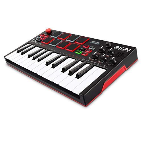 AKAI Professional MPK Mini Play – USB MIDI Keyboard Controller With...