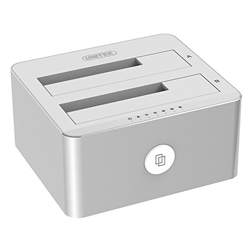 Unitek Aluminum USB 3.0 to SATA Dual Bay External Hard Drive Docking...