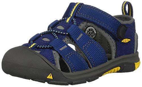 KEEN Toddler (1-4 Years) Newport H2 Blue Depths/Gargoyle Sandal - 4 M...