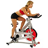 Sunny Health & Fitness Spin Bike SF-B901 Pro Indoor Cycling Exercise...