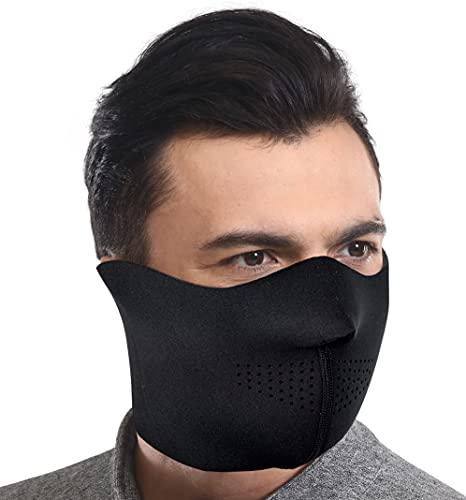 Neoprene Half Face Mask - Balacalava & Ski Masks - Outdoor & Winter...