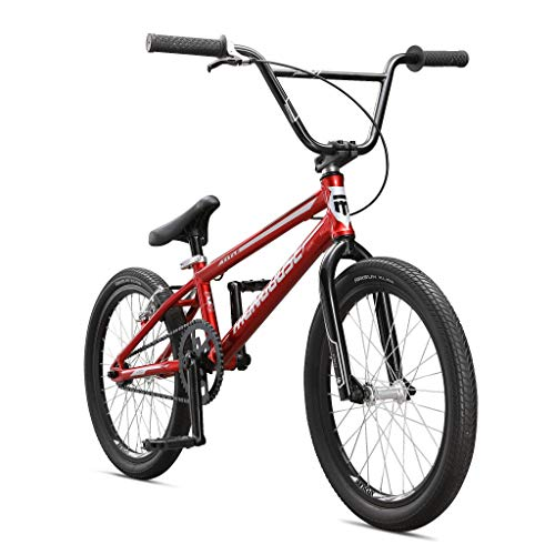 Mongoose Title Pro BMX Race Bike, 20-Inch Wheels, Beginner to...