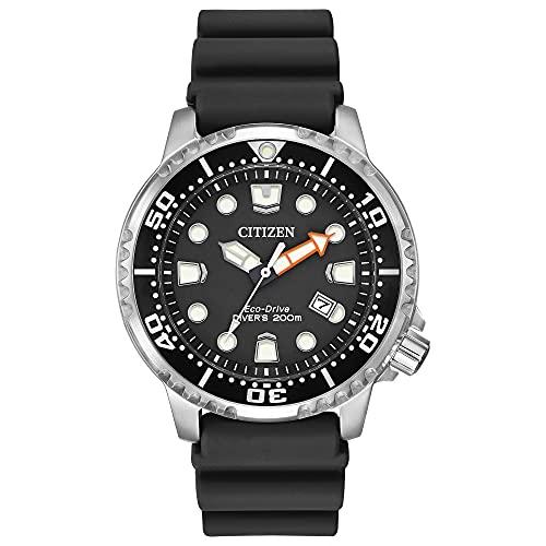 Citizen Eco-Drive Promaster Diver Quartz Mens Watch, Stainless Steel...