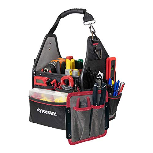 Husky 88593N11 10' Electrician Bag with Driver Wall