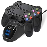 PS4 Controller Charger,PS4 Controller Charging Station Dock Stand with...