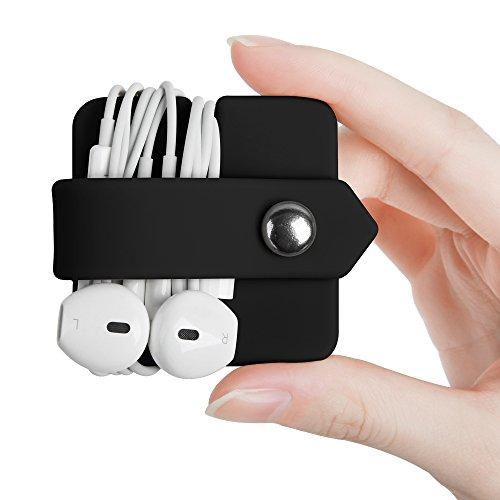 ELFRhino Headphone Case Cord Organizer Earbuds Holder Earphones Case...