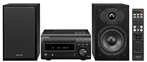 Denon D-M41 Home Theater Mini Amplifier and Bookshelf Speaker Pair -...