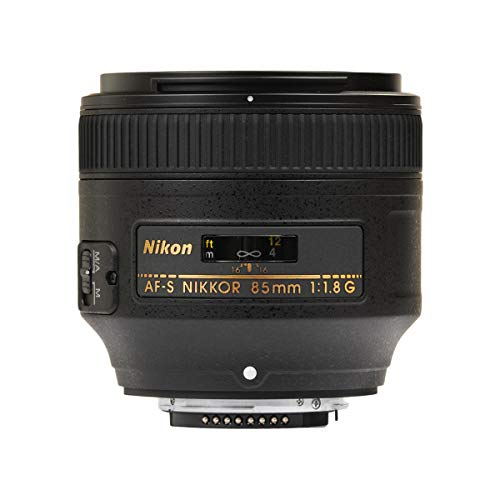 Nikon AF S NIKKOR 85mm f/1.8G Fixed Lens with Auto Focus for Nikon...