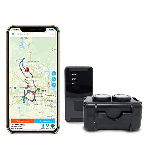 GPS Tracker - Optimus 2.0 4G LTE Bundle with Waterproof Twin Magnet...