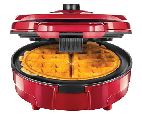 Chefman Anti-Overflow Belgian Waffle Maker w/Shade Selector,...