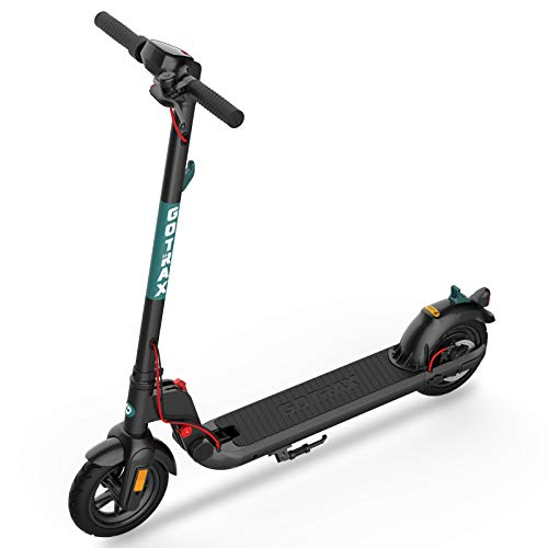 GOTRAX Commuting Electric Scooter - 8.5' Air Filled Tires - 15.5MPH &...