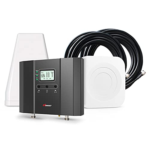 HiBoost Signal Booster for Office, Up to 15,000 sq ft, Boost 4G LTE...