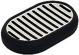 Amazon Basics Stainless Steel Soap Dish Holder, for...