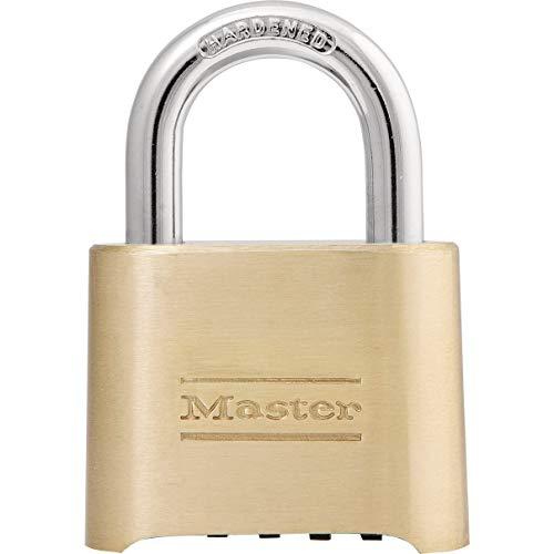 Master Lock 175D Locker Lock Set Your Own Combination Padlock, 1 Pack,...