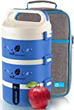 Bento Lunch Box Stackable Stainless Steel Thermal (3-Tier) Lunch...