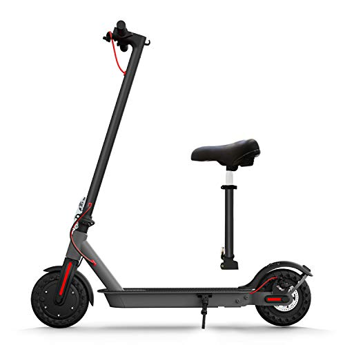 Hiboy S2 Electric Scooter with Seat - 8.5' Solid Tires - Up to 17...