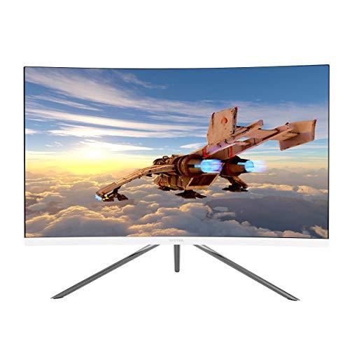VIOTEK GN27DW 27-Inch Curved Gaming Monitor, 1440p 144Hz Samsung VA...