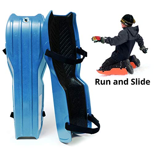 Sled Legs Wearable Snow Sleds – Fun Winter Accessories with Leg...