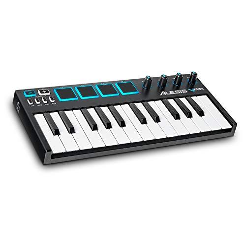 Alesis V-Mini - 25-Key USB MIDI Keyboard Controller with 4 Backlit...