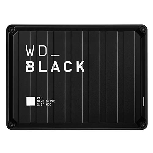 WD_Black 5TB P10-Game Drive, Portable External Hard Drive Compatible...