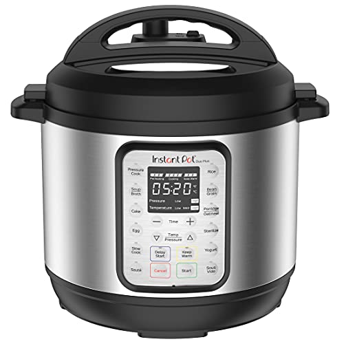 Instant Pot Duo Plus 9-in-1 Electric Pressure Cooker, Slow Cooker,...