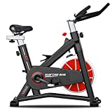 SYRINX Exercise Bike Indoor Cycling Bike Stationary Bikes for Home Gym...